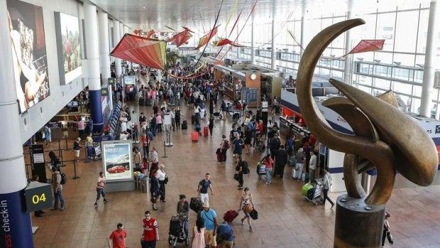 Imagen del aeropuerto de Bruselas