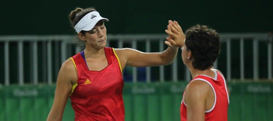 Muguruza y Carla Suárez, clasificadas a los cuartos de Río