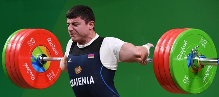 Karapetyan se disloca el codo en la prueba de halterofilia