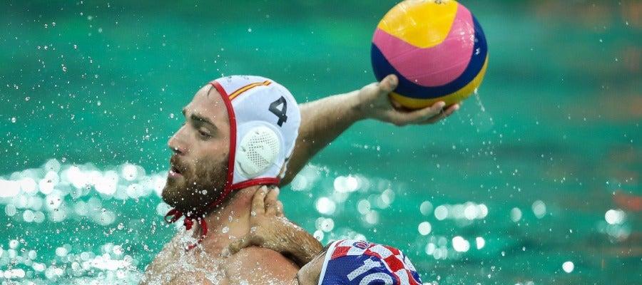 España golea a Crocia y encarrila su pase a los cuartos de Río