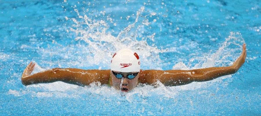 La nadadora china Chen Xinyi