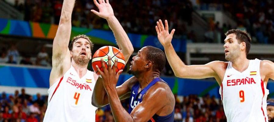 España contra Estados Unidos