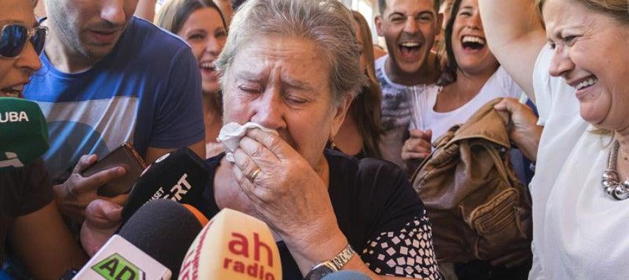 La abuela de Carolina Marín