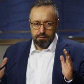 Juan Carlos Girauta, en el Congreso de los Diputados