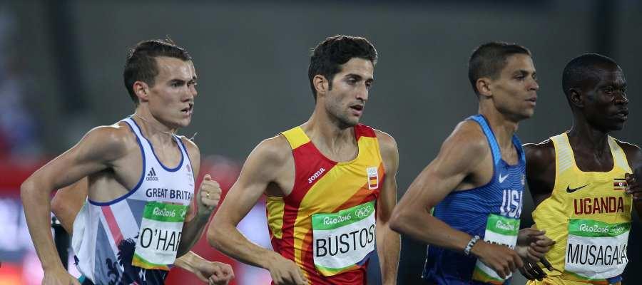 David Bustos, durante los Juegos de Río de Janeiro