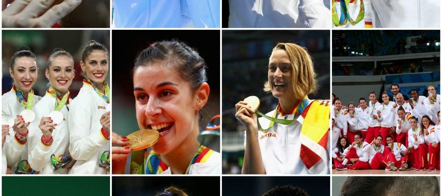 Resumen de los Juegos Olímpicos de Río de Janeiro para los españoles