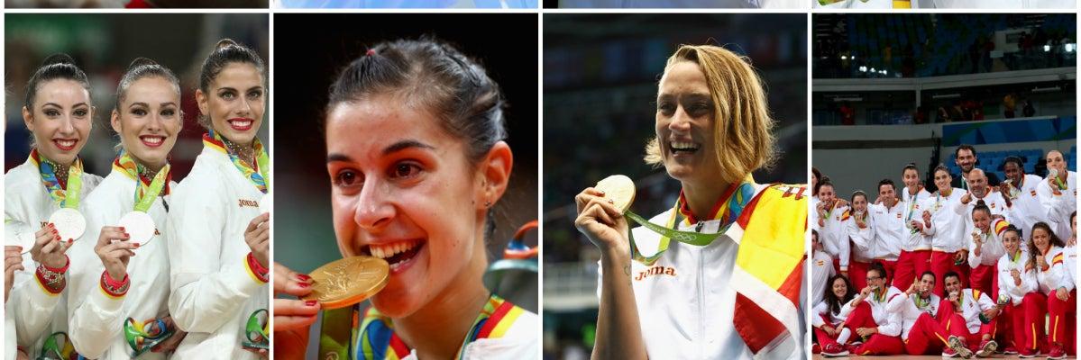 Los mejores momentos de los españoles en los Juegos Olímpicos