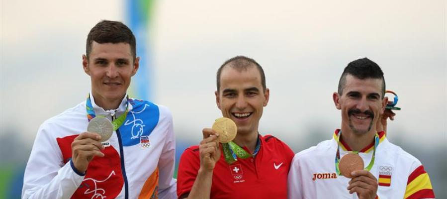 Carlos Coloma logra la medalla de bronce