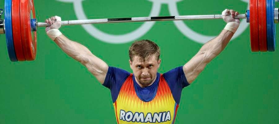 Gabriel Sincraian, durante su ejercicio en los Juegos de Río