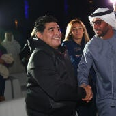 Argentina no deja viajar a Maradona a Dubai.