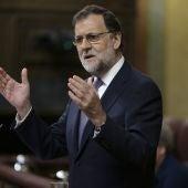 """Mariano Rajoy a Pedro Sánchez: """"No abuse, con que me diga que 'no' ya es suficiente, tranquilícese"""""""
