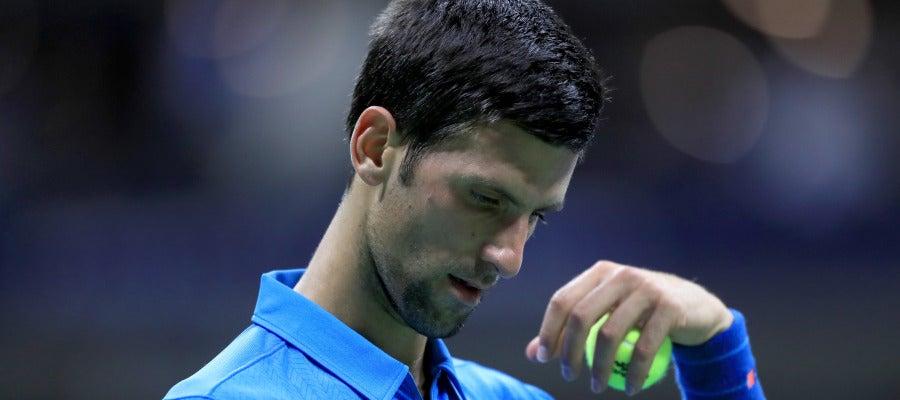 Novak Djokovic, clasificado a tercera ronda del US Open sin jugar.