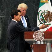 Trump y el presidente de México