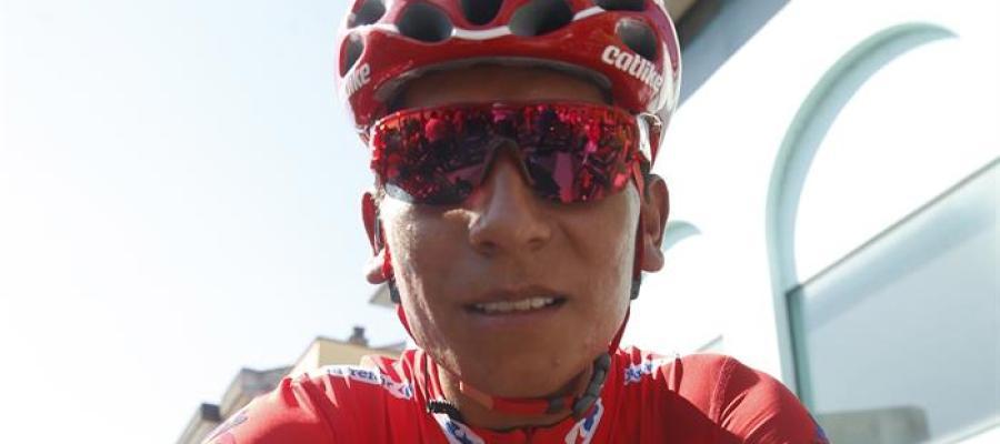 El ciclista Nairo Quintana.