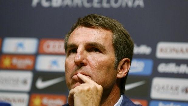 """Robert Fernández, exdirector deportivo del Barcelona: """"El Valencia lleva muchos años sin ganar y quiero que gane esta final"""""""