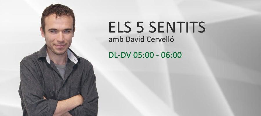 Els 5 sentits, amb David Cervelló