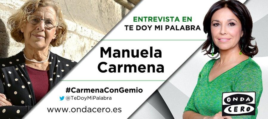 Manuela Carmena desayuna con Isabel Gemio en Te doy mi palabra