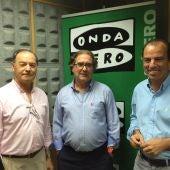 Roman Felones, Carlos Garcia Adanero y Fermin Ciaurriz