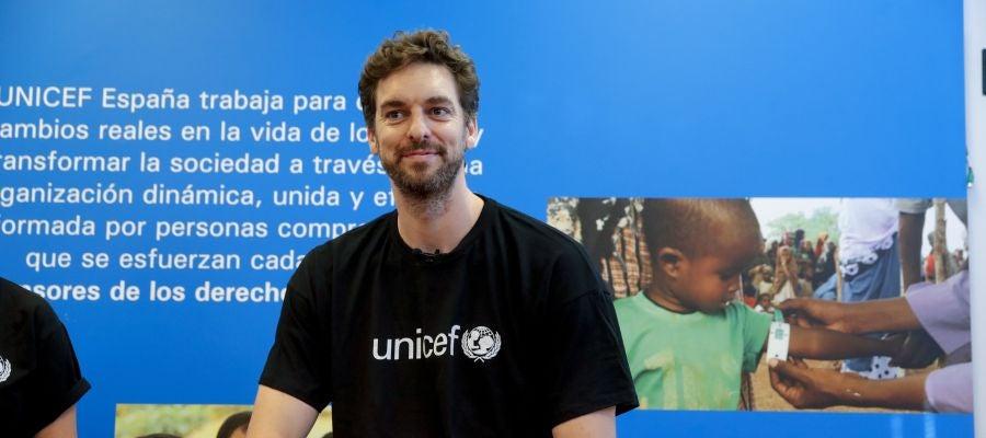 Pau Gasol muestra su lado más humano con Unicef