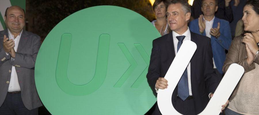 El lehendakari y candidato a la reelección, Iñigo Urkullu