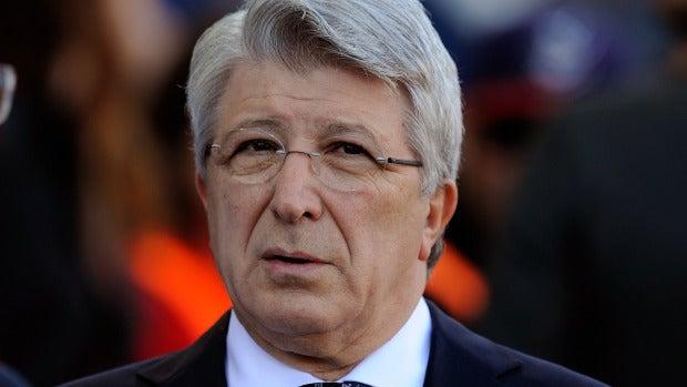 Enrique Cerezo confirma a Onda Cero que el Atlético no va a recurrir tras la sanción de la FIFA
