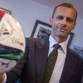 Aleksandar Ceferin, presidente de la UEFA