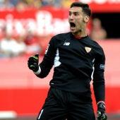 Sergio Rico, portero del Sevilla