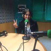 Solange Pereira, atleta afincada en Cangas do Morrazo