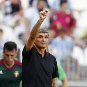 El entrenador del Málaga, Juande Ramos.