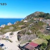 Frame 39.087504 de: Unha ollada a Costa da Vela a vista de paxaro