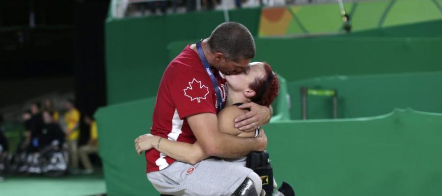 La imagen más conmovedora de los Juegos Paralímpicos