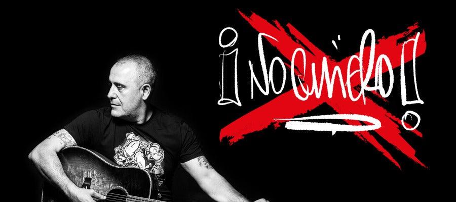Portada del single 'No quiero' de Carlos Rodríguez