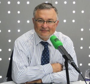 John Müller en los estudios de Onda Cero