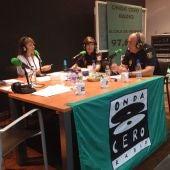 Policía Nacional y Local de Alcalá de Henares en Onda Cero