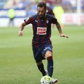 Antonio Luna, jugador del Eibar