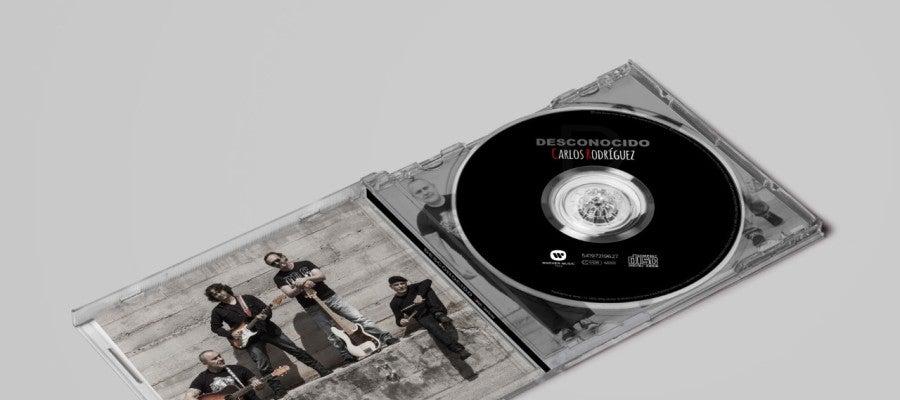 'Desconocido', primer álbum de Carlos Rodríguez