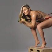 El desnudo de la esquiadora Lindsey Vonn