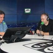 Ferreras con José Ramón de la Morena