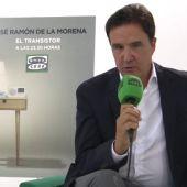 Frame 15.583217 de: José Ramón de la Morena se muestra feliz y agradecido tras su primer mes en El Transistor de Onda Cero