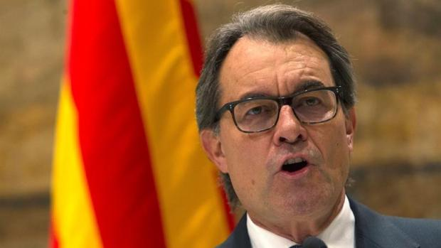 """El expresidente catalán Artur Mas ha acusado al Gobierno de haber """"presionado"""" a los fiscales"""