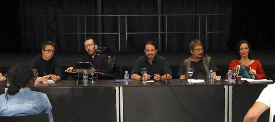 Pablo Iglesias al inicio del Consejo Ciudadano