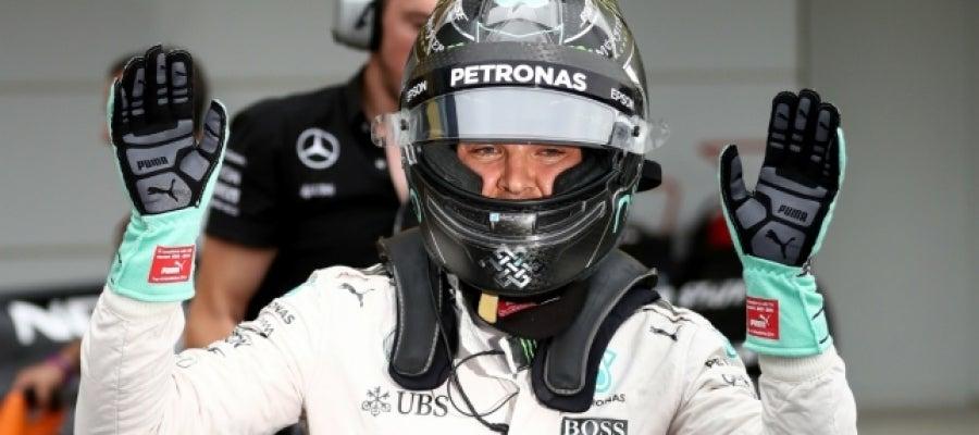 Rosberg, en Japón