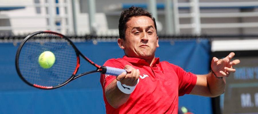 El tenista Nicolás Almagro en el torneo de Shanghái