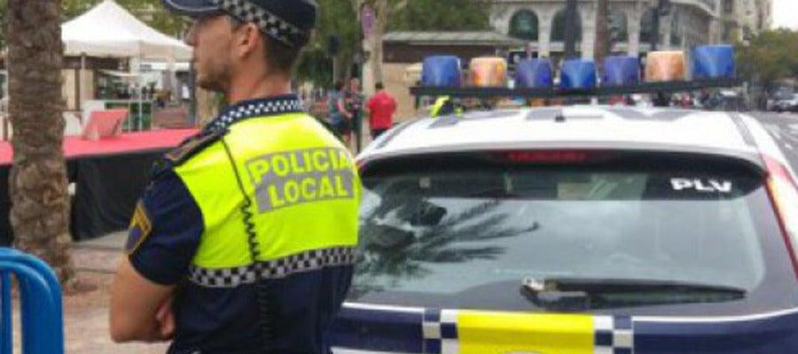 Imagen de archivo de un policía local