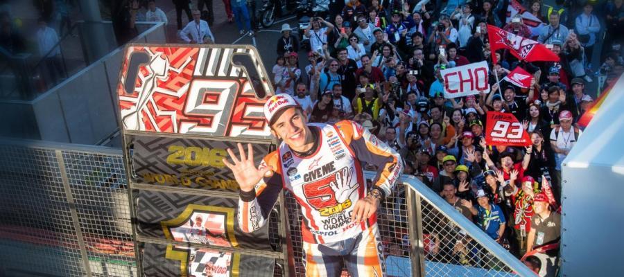 Marc Márquez logra el campeonato del mundo de Moto GP