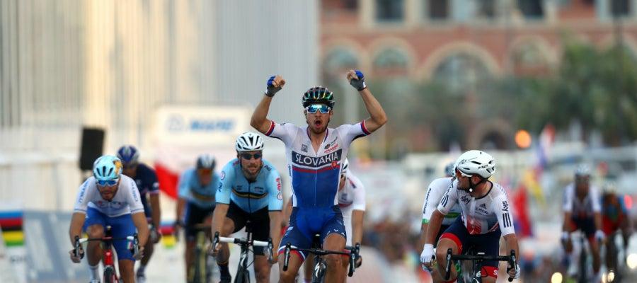 Sagan gana el Mundial de ciclismo en ruta