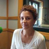 Victoria Gurpegui en los micrófonos de Onda Cero León