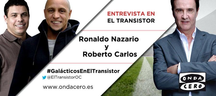 Ronaldo Nazario y Roberto Carlos en El Transistor