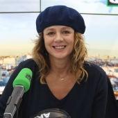 La actriz Emma Suárez durante una entrevista en Onda Cero