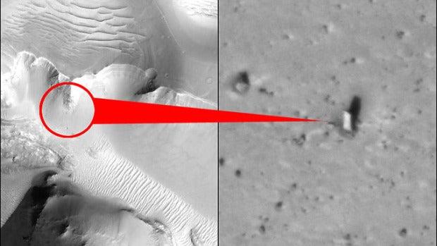 Punta Norte: El enigma de un monolito en una luna de Marte